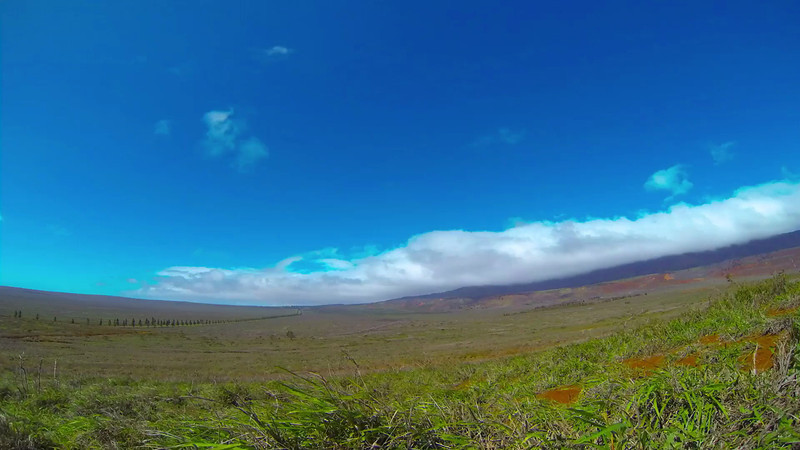 Time Lapse - Clouds Rolling Over Palawai Basin - Lana'i, Hawaii - Joe West Photography