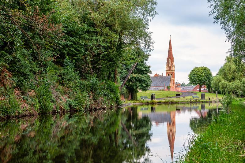 Baxter Church, Kidderminster, Worcestershire.