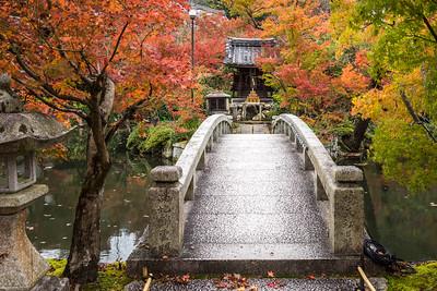 Bridge at Eikan-dō