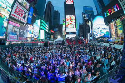 Celebrating Israel event in Times Square