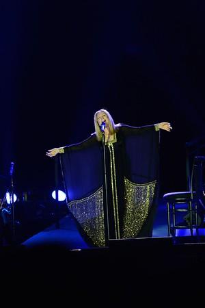 Barbra Streisand in concert- Tel Aviv, Israel 2013