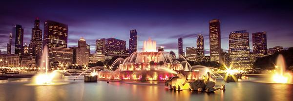 Chicago, Buckingham Fountain