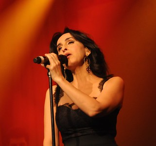 Israeli singer Rita performs at a fundraising event in Los Angeles, CA - 2010.