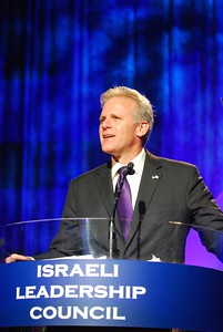 Israel Ambassador to the United States speaks at the Israeli Leadership Council Gala Dinner in Los Angeles, CA- 2011