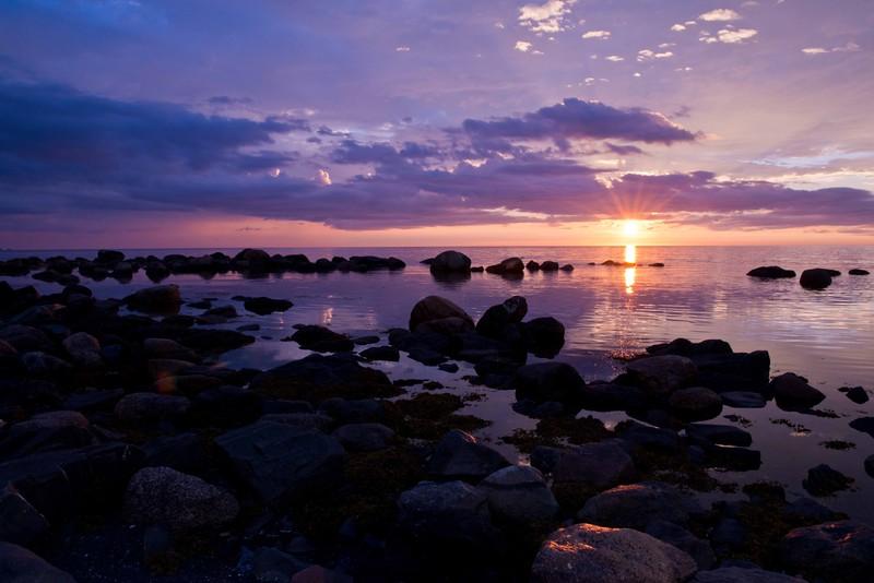 Sunset, Rocky Harbor, Newfoundland