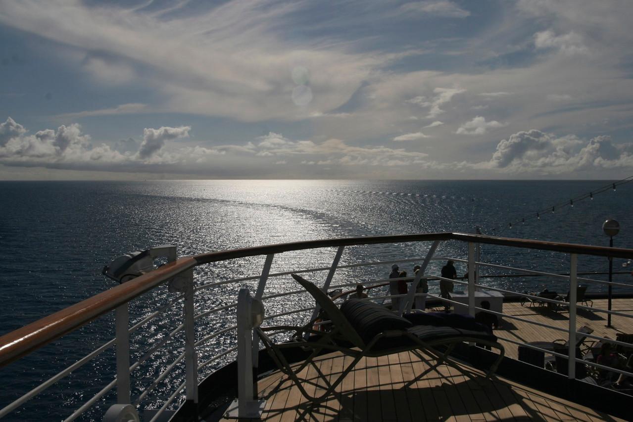 Heading Home, Atlantic Ocean