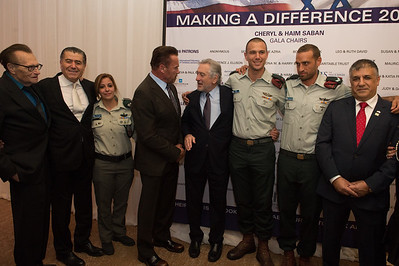 Friends of the IDF (FIDF) Western Region  Gala Dinner 2016 at the Beverly Hilton in Beverly Hills, CA.