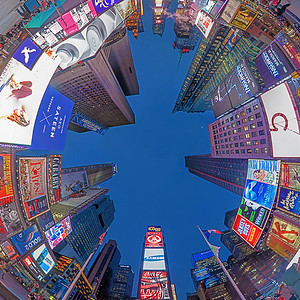 Up in Time Square