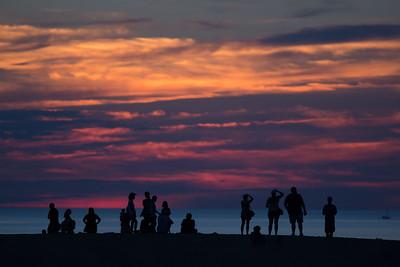 adillenseger jockeys ridge sunset