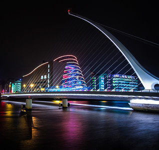 Samuel Beckett Bridge Dublin Ireland