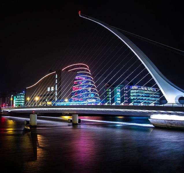 Samuel Beckett Bridge Dublin Ireland
