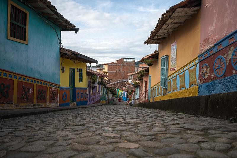 Guatapé Street Scene