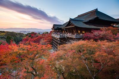 Kiyomizu-dera at Dusk • Kyoto, Japan