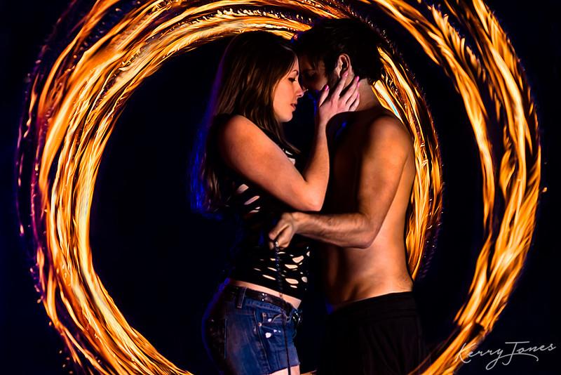 Fiery Embrace