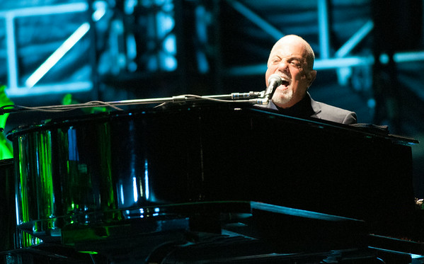 Billy Joel, Citizen's Bank Park in Philadelphia. August 2, 2014.