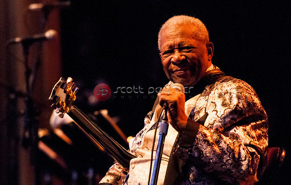 B.B. King, Keswick Theater, Glenside PA 2013