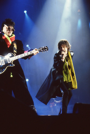Mick Jagger and Ronnie Wood, Rolling Stones