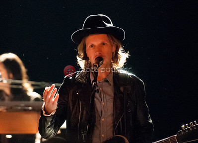 Beck in concert.