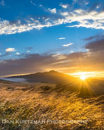 Ring Mountain Golden Hour