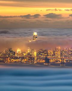 Fog City Sunset