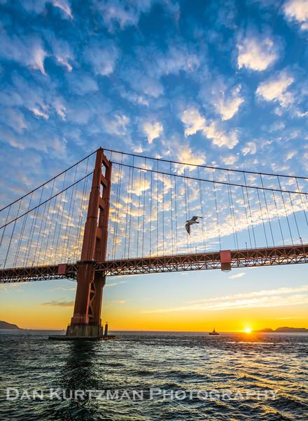 Sunset Sail Under the Golden Gate