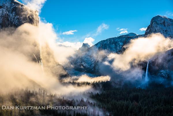 Misty Morning, Yosemite National Park