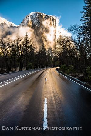 Road to El Capitan, Yosemite