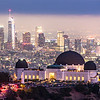 Griffith Observatory and the Los Angeles Skyline