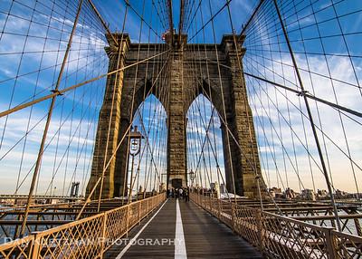 Walking the Brooklyn Bridge