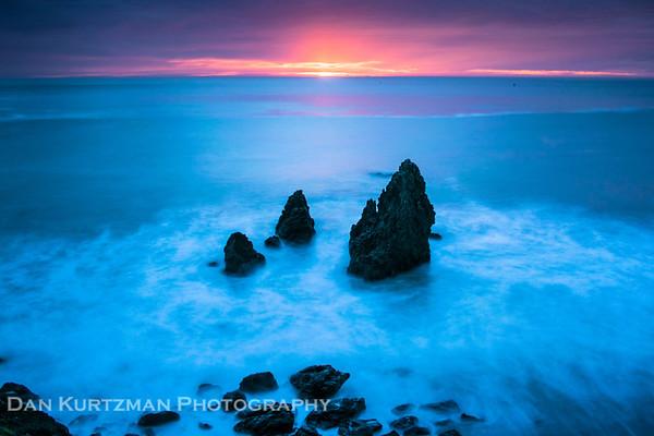 Winter Sunset in the Marin Headlands