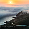 Marin Headlands Sunset Above the Fog