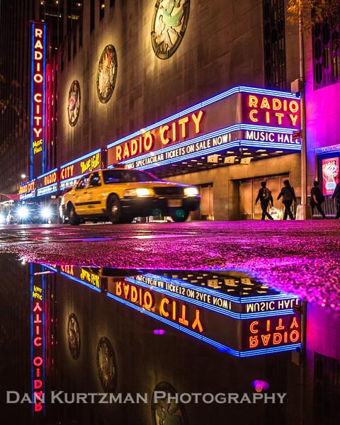 Radio City Music Hall in Reflection