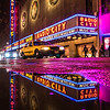 Radio City Music Hall in Reflection