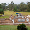 10/7/09 - Wednesday<br /> <br /> Masonry supplies delivered at the crack of dawn. With the footer in place, the house outline is a lot more obvious.