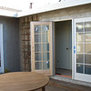 Beautiful Anderson French doors! The interior is pine and will be stained to match our cherry kitchen cabinets.