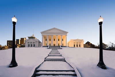 Richmond, VA - Capitol Snow