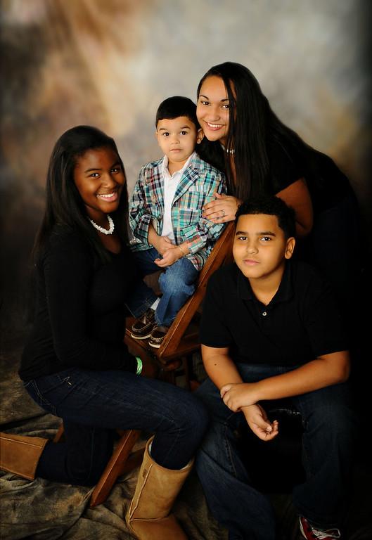 Burks Family Portrait