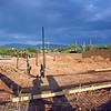 Foundation Plumbing in progress