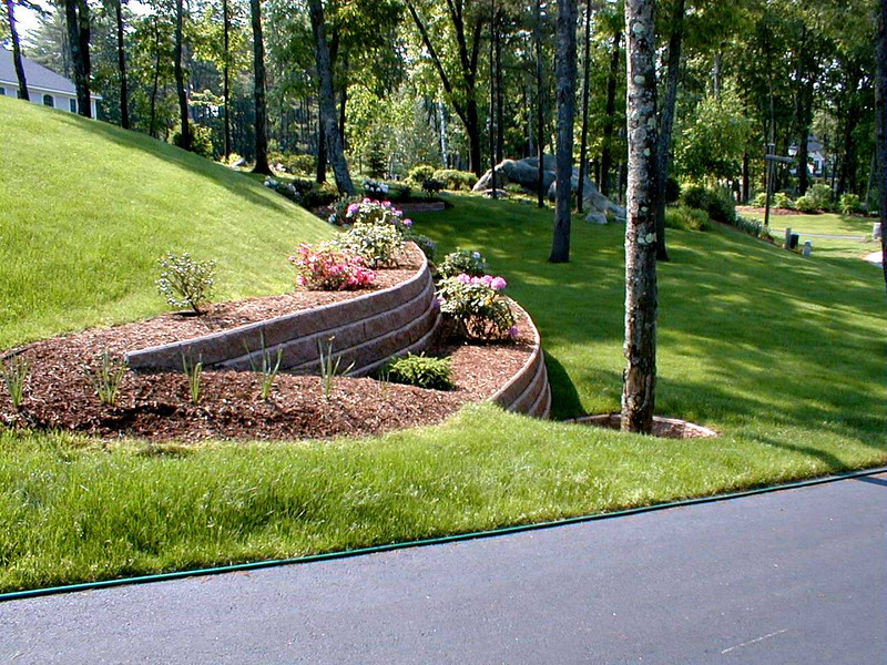 The Retaining Wall Project: 1996-1998