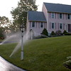 7 zones to adequately irrigate the upper and lower front lawn areas.