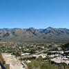 The Santa Catalina Mountain Range from Sabino Mountain