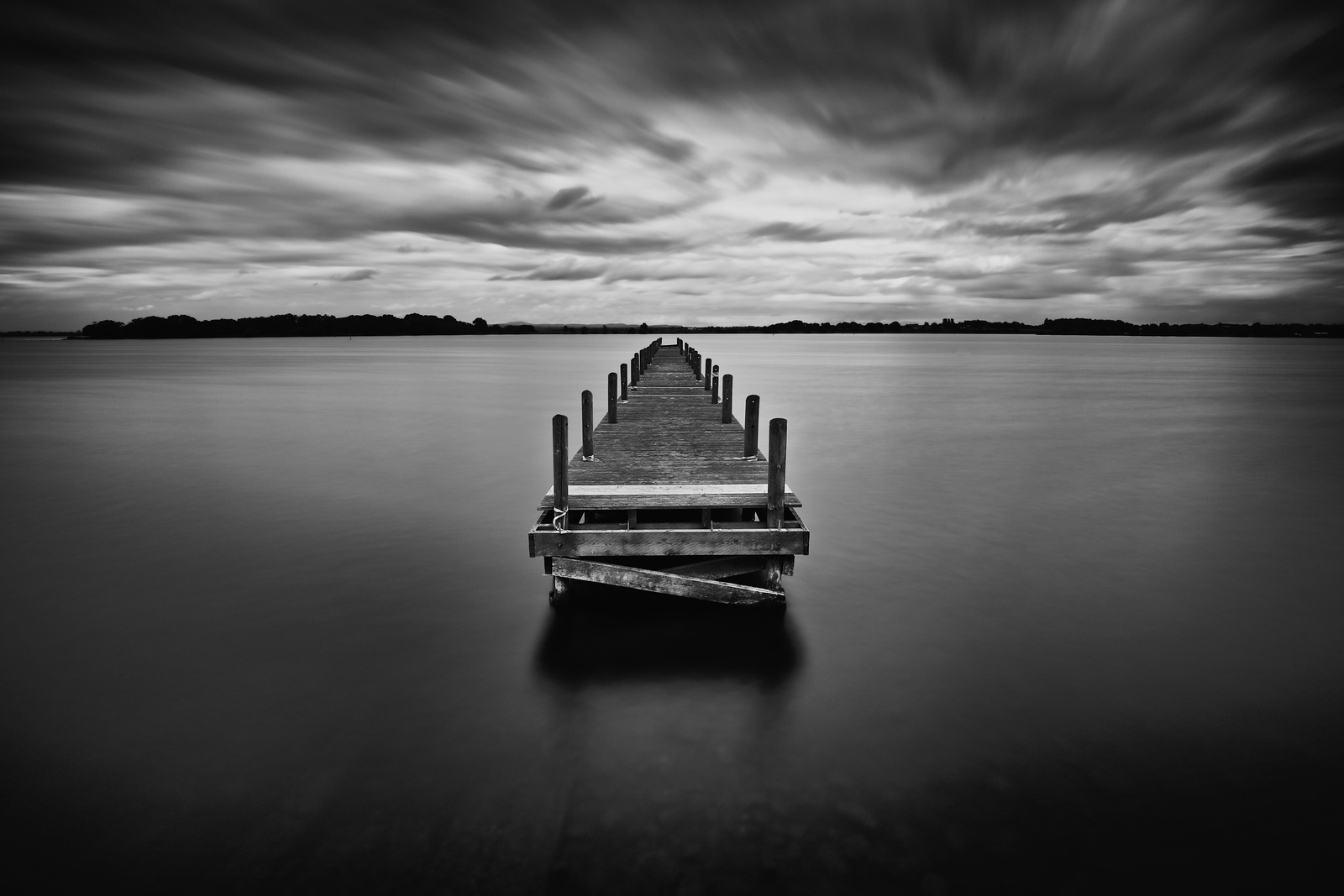 Old Pier at Oxford Island