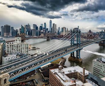 Two Bridges- Manhattan NY