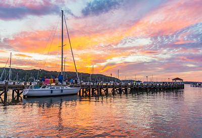 Northport Harbor Aug 2021