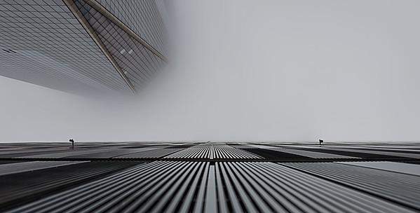 Foggy One World Trade Center