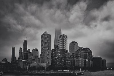 Rainy Day Feeling-Lower Manhattan NYC