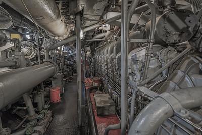 Engine Room, FDNY Fire Boat John Harvey