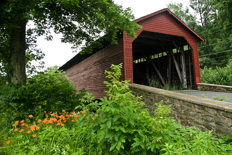 Utica Mills Covered Bridge