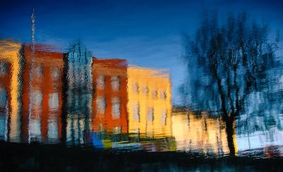 Culorile Irlandei pe Raul Liffey din Dublin