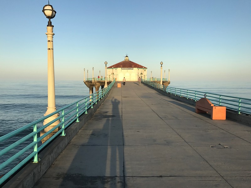 Casting a shadow over the Pier